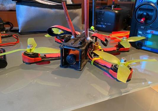 Drone de carreras fpv