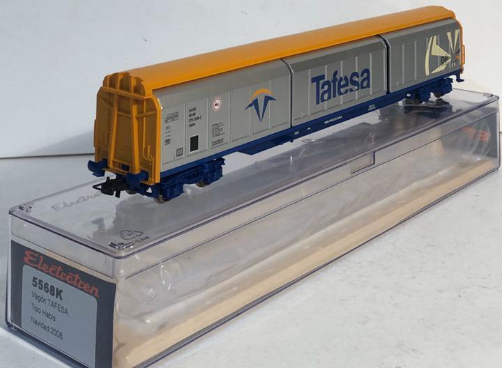 Electrotren vagón puertas correderas tafesa escala h0