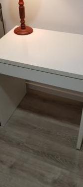 Escritorio blanco - mesa ordenador ikea