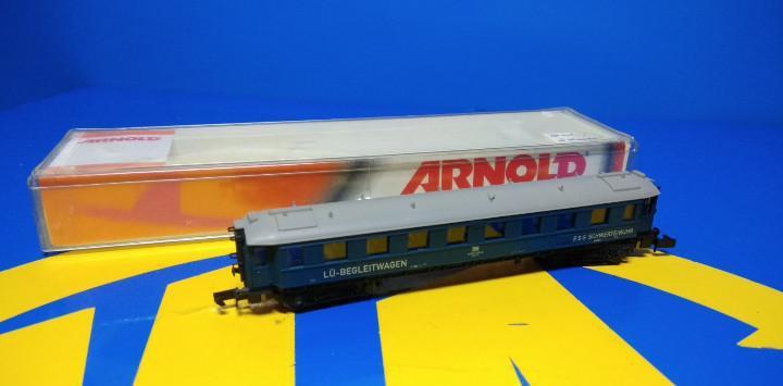 Escala n arnold vagón de pasajeros lu-begleitwagen-sin