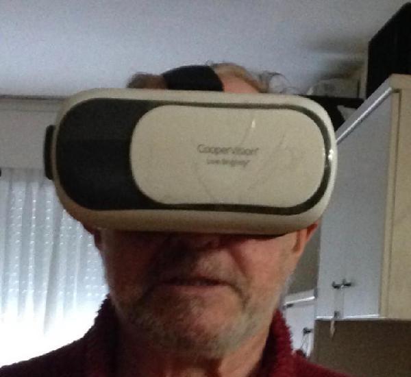 Gafas cooper vision de realidad virtual para smartphone.