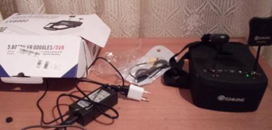 Gafas/monitor fpv eachine ev800d