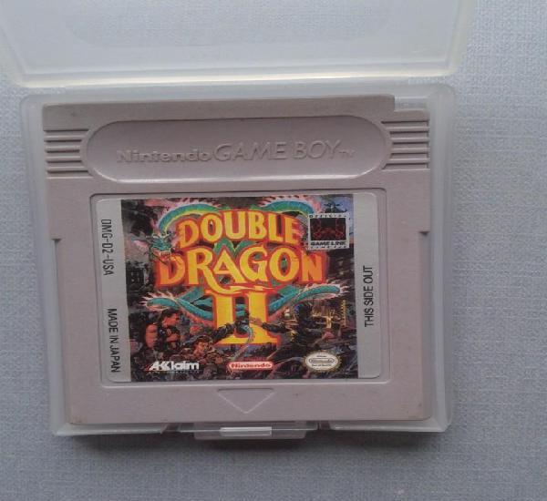 Juego nintendo game boy double dragon ii cartucho + funda