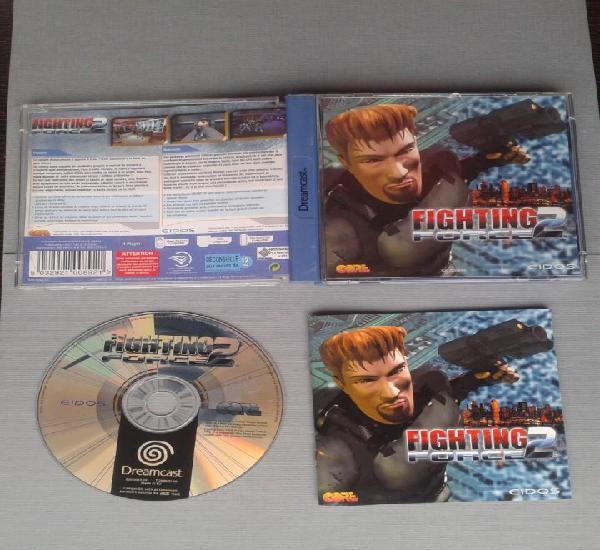 Juego sega dreamcast fighting force 2 completo con manual
