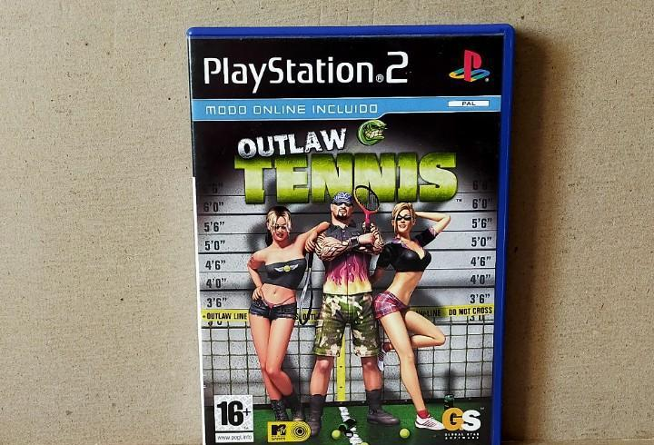 JUEGO SONY PLAYSTATION 2 - PAL - OUTLAW TENNIS - COMPLETO -