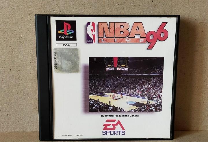 Juego videojuego playstation ps1 - psx pal - nba live 96 -