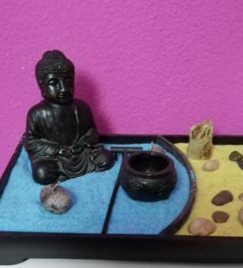 Jardín zen.