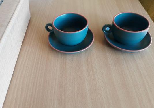 Juego café 6 tazas y platos