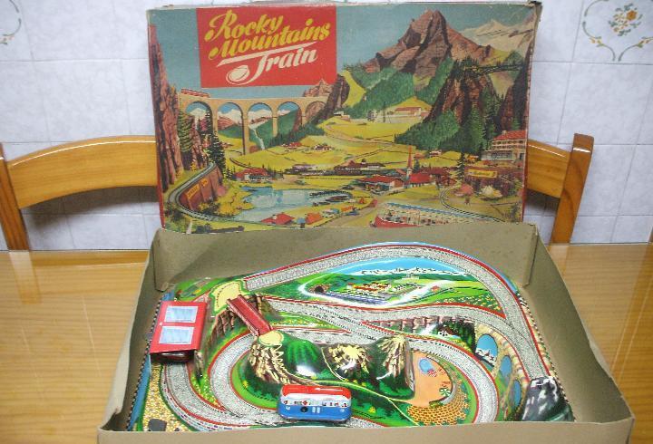 Marke technofix 312 rocky mountains train, circuito de