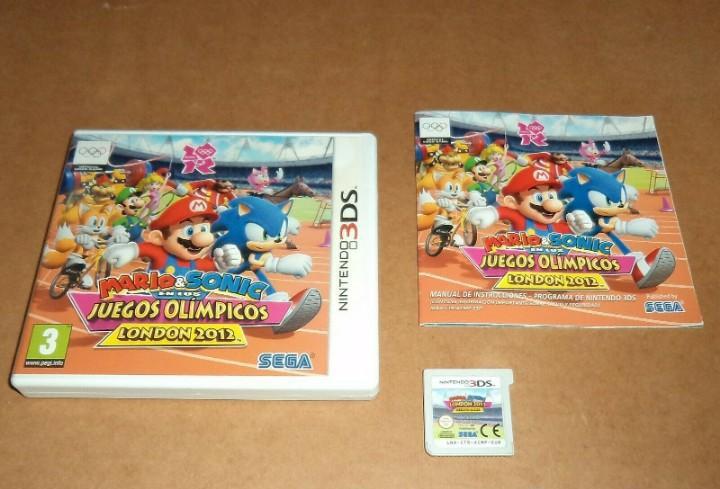 Mario & sonic en los juegos olimpicos london 2012 para
