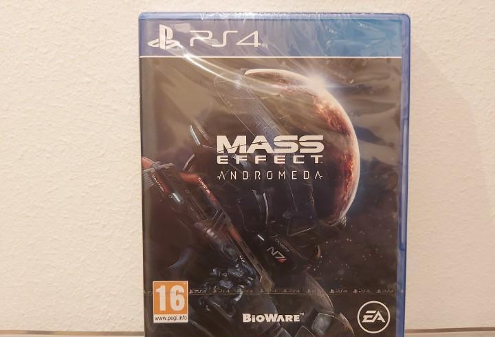 Mass effect, andromeda - videojuego ps4 a estrenar (pal esp)