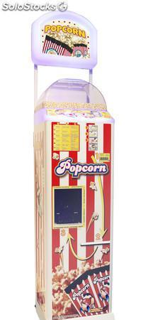Máquinas automáticas de palomitas con más capacidad y