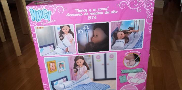 Nancy y su cama caja vacia