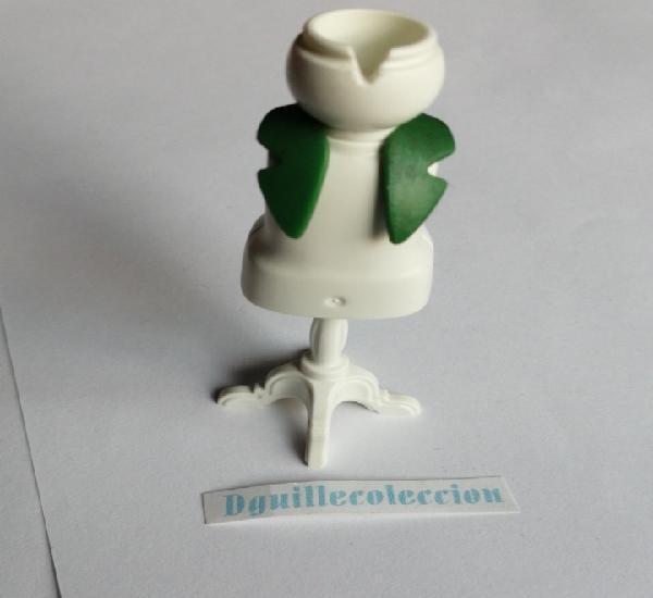 Playmobil pañuelo cuello bufanda verde