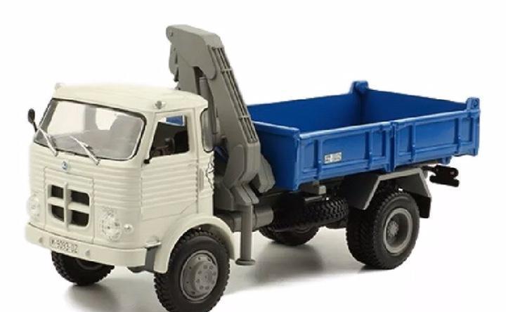 Precioso camión grúa pegaso comet 3041 1:43