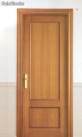 Puertas de madera serie construcción