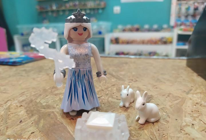Reina de las nieves playmobil
