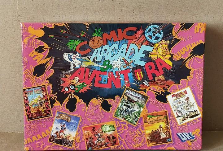Spectrum: comic, arcade & aventura: jabato, cozumel, freddy,