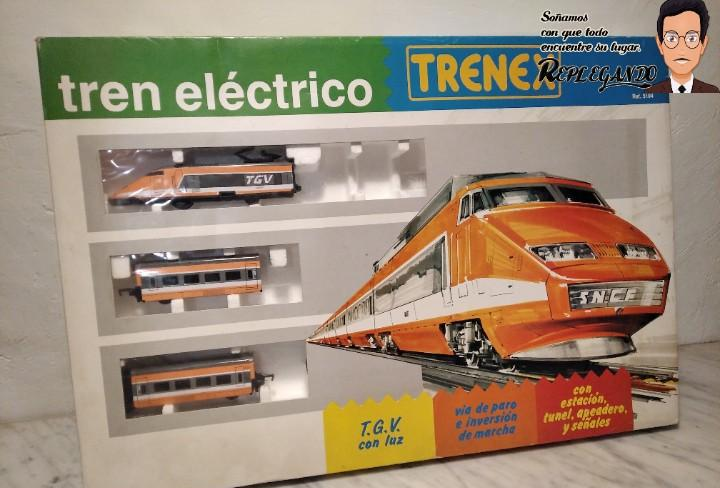 Tren tgv francés ibertren trenex ref.5104 - funciona -