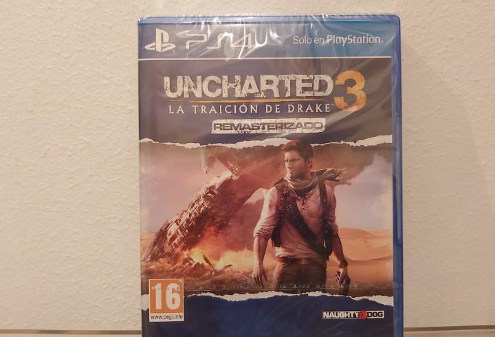 Uncharted 3, la traición de drake (remasterizado) -