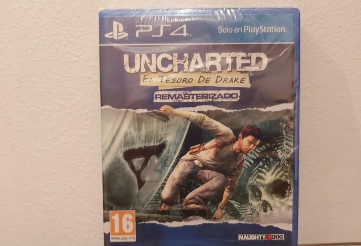 Uncharted, el tesoro de drake (remasterizado) - videojuego