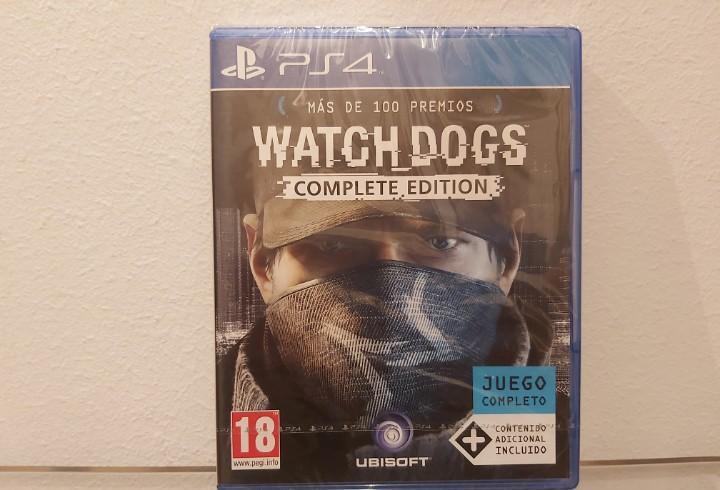 Watch dogs, complete edition - videojuego ps4 a estrenar