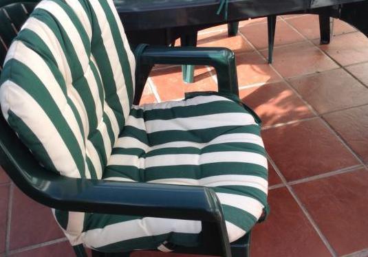 Cojines enteros sillas jardin