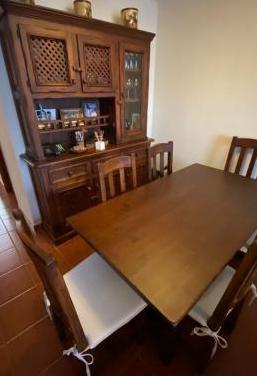 Muebles de salón madera maciza