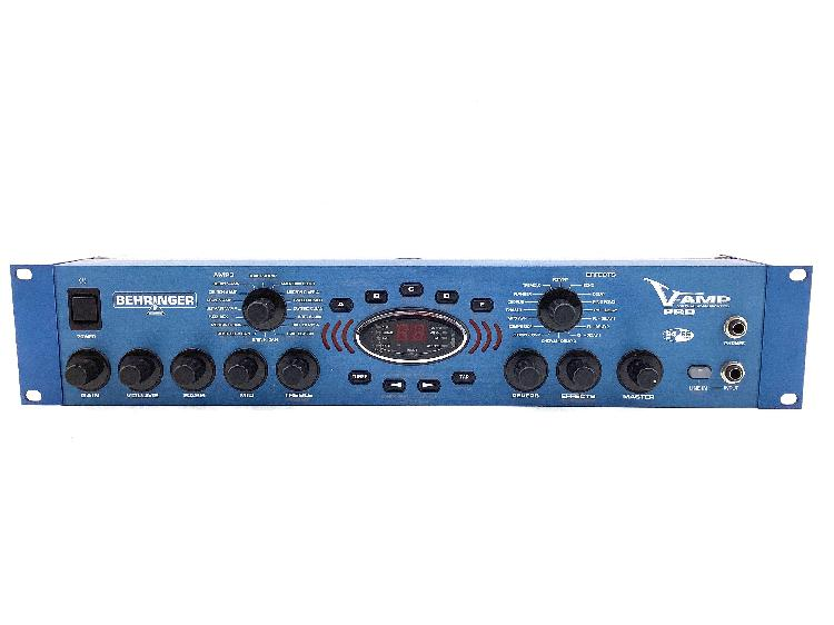 Pedal multiefectos de guitarra behringer v-amp pro
