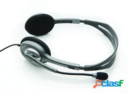 Logitech auriculares stereo headset h110
