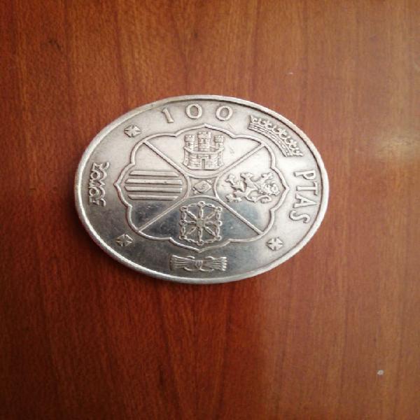 100 pts. plata franco