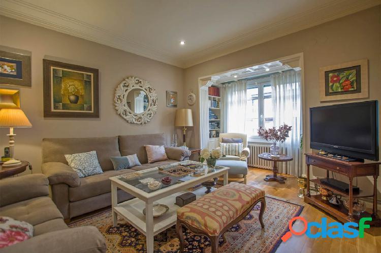 Confortable vivienda exterior, tranquila y luminosa