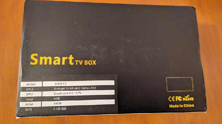 Android tv box 9.0 4/64 sunnzo f2 nuevo a estrenar
