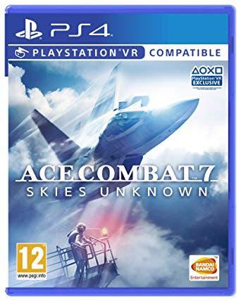 Ace combat 7: skies unknown · ps4 vr · nuevo