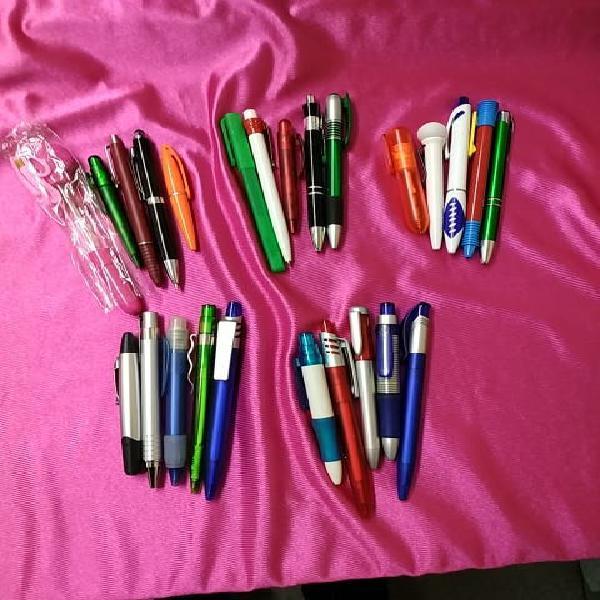Bolígrafos sin publicidad , 25 unidades