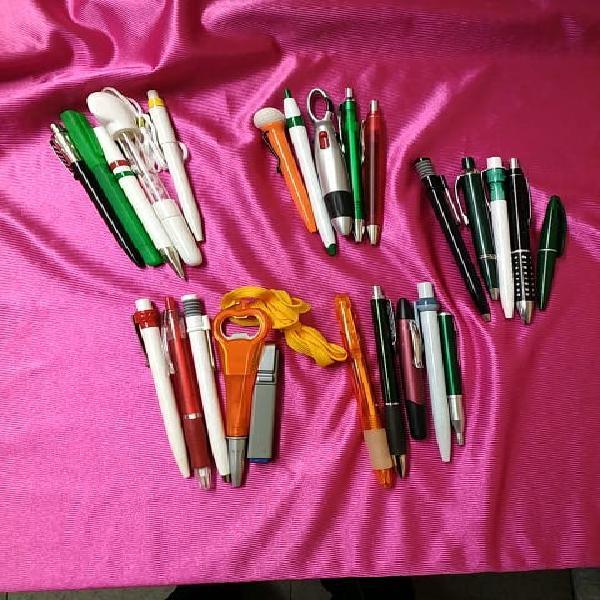 Bolígrafos sin publicidad, 25 unidades