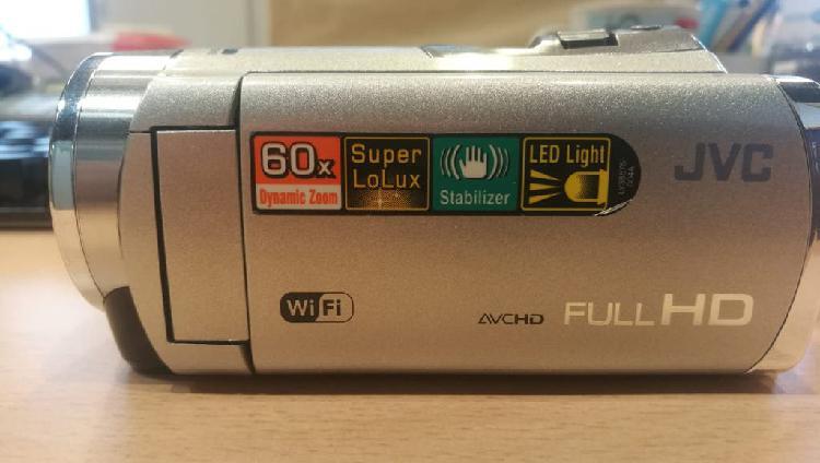 Cámara de vídeo jvc everio hd wifi nueva