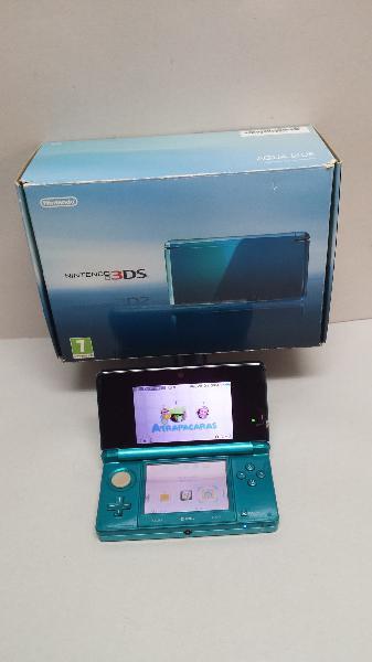 Consola nintendo 3ds aqua blue