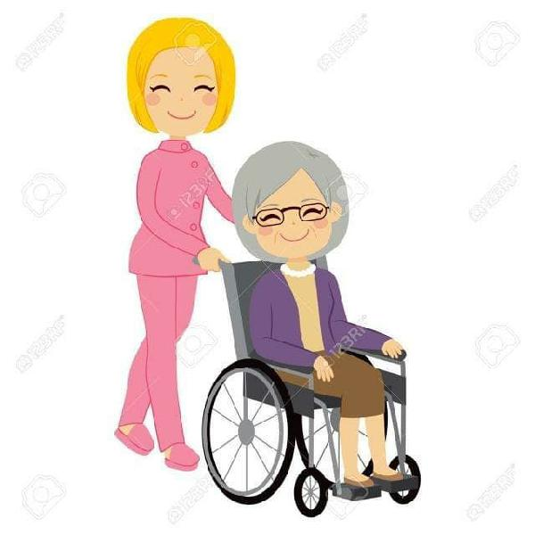 Cuidado y acompañamiento a personas mayores