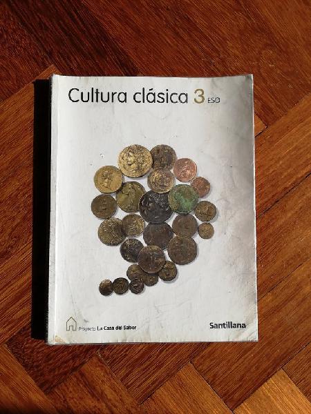 Cultura clásica 3°eso santillana