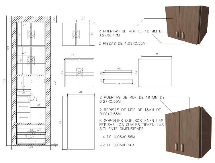 Dibujo de planos en 2d, render, 3d, archicad