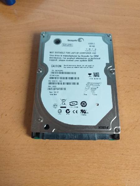 Disco duro portátil 40gb . seagate ld25.2
