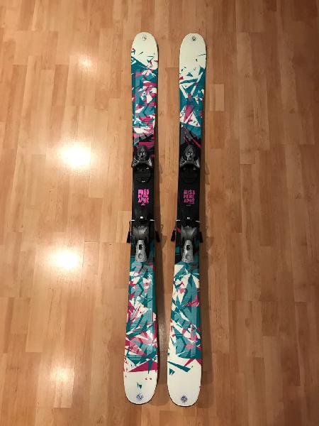 Esquís mujer missdemeanor + fijaciones