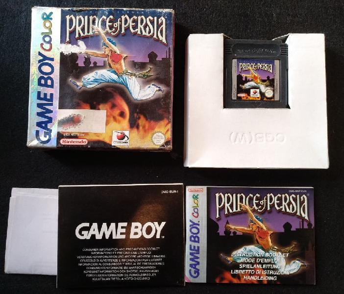 Gameboy color prince of persia.