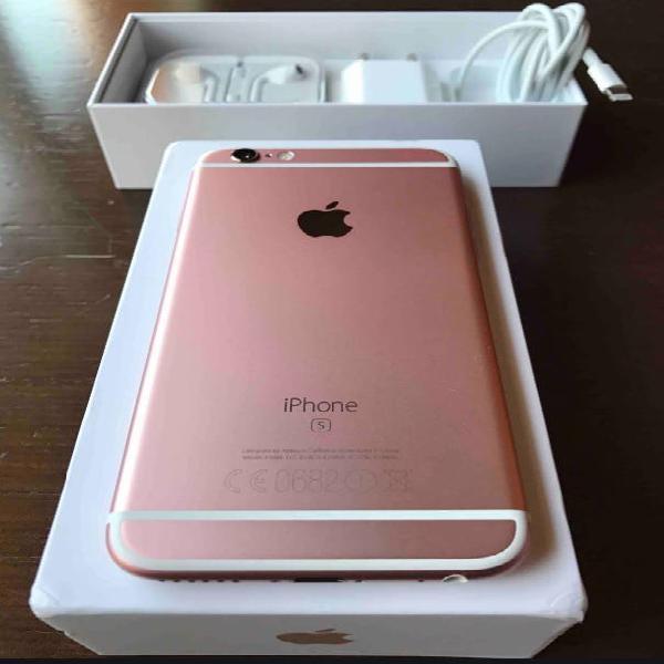 Iphone 6s color rosa de 64gb. libre y nuevo