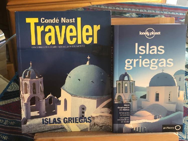 Islas griegas lonely planet + conde nast traveler