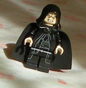 Lego star wars minifigura darth sidious