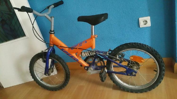 Mini mountain bike niño.