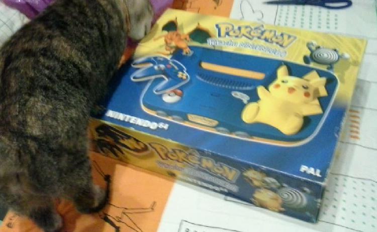 Nintendo 64 edicion pokemon pikachu completa 2 jue
