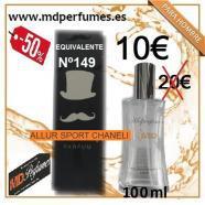 PERFUME HOMBRE EQUIVALENTE N149 ALLUR SPORT CHANELI